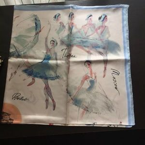 Fashion From China-Silk Scarf with Ballets